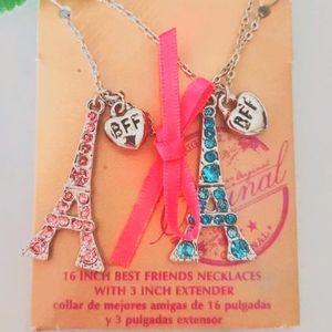 ❤ 4 for $25❤ #20 Paris Eifel Best Friend Necklaces
